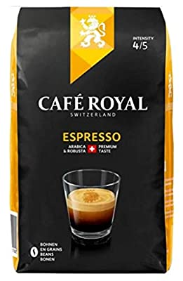 Café Royal Espresso Beans, 1 kg, Roasted Coffee Beans