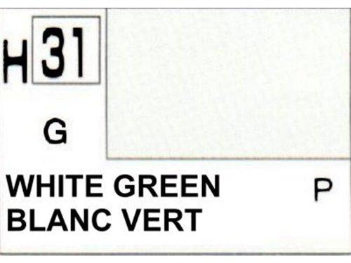 Gunze - Avion Miniature - Peinture maquette Gunze Vert-Blanc - H031