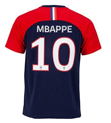 Camiseta de fútbol de la selección francesa, colección oficial para hombre, Hombre, azul marino, extra-large