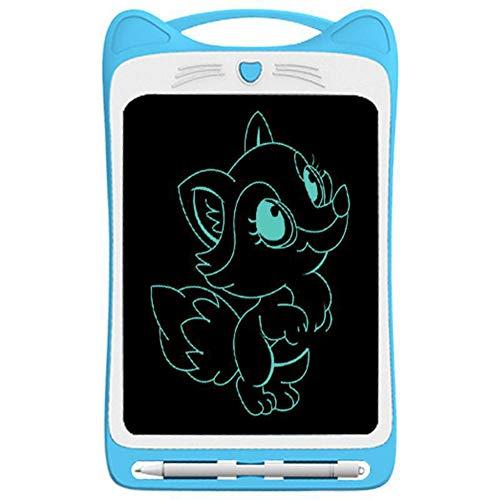 CYYMY Einfarbig Schreibtafel LCD Kinder 11 Zoll Bildschirm, Elektronisches Schreibtablet mit hellere Schrift, Digitale Maltafel mit Anti-Clearance Funktion,Blau,11