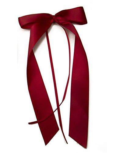 FlexiStore 10 Antennenschleifen, Deko Schleifen, Hochzeit, Autoschmuck, Autoschleifen, Bordeaux Rot