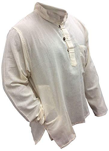SHOPOHOLIC FASHION licht gewicht Hippy Festival Grandad Shirt