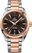 Omega Seamaster Aqua Terra Red Gold and Steel Men's Watch 231.20.42.22.06.001