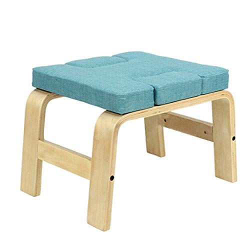Fantastic Prices! TAESOUW-Sports Yoga Meditation Benches Inversion Chair Wooden Yoga Asana Exercise ...