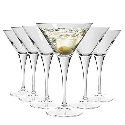Bormioli Rocco Bicchiere da Martini/Cocktail Ypsilon - 245 ml - 6...
