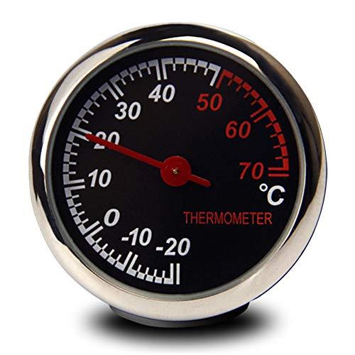 Auto-Thermometer-Hygrometer-Quarz-Uhr, kleiner runder Quarz-Armaturenbrett-Verzierungs-Satz eingestellt für Auto-Verzierungs-Dekorationn