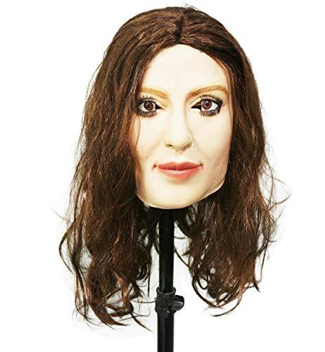 HENGYUTOY MASK Máscara de látex para mujer, máscara de Crossdresser para cosplay, disfraz de máscara para adultos, unisex, para hombre