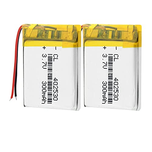 softpoint Batería del PolíMero De Litio De 3.7v 402530 300mah, Ion De Li para El Presidente De La Radio del Smart Watch De Mp3 Mp4 GPS 2pieces