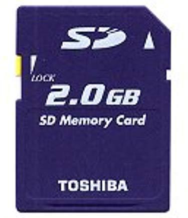 Toshiba 2.0GB Secure Digital Memory Card
