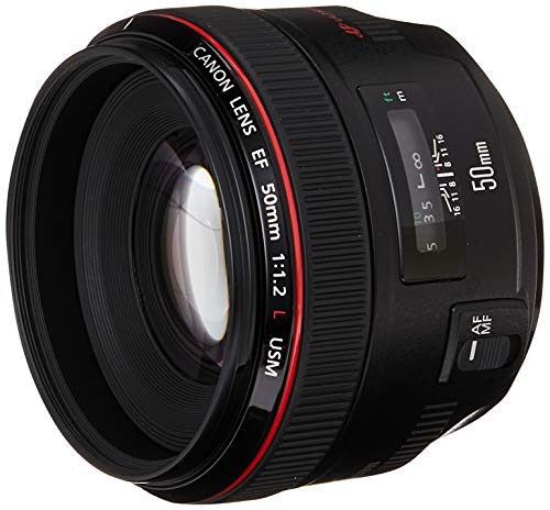 Canon EF 50mm f/1.2 L USM Lens for Canon Digital...