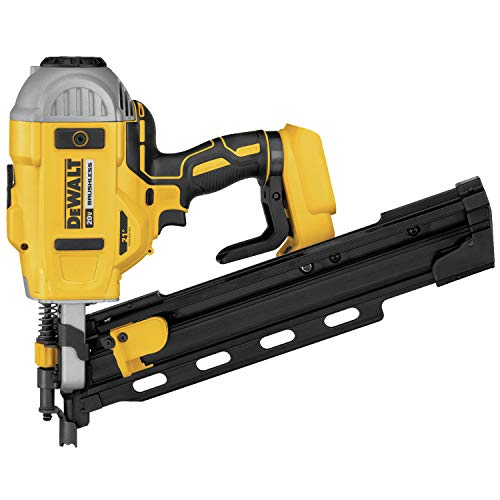 DEWALT 20V MAX Framing Nailer, 21-Degree, Plastic Collated, Tool Only (DCN21PLB)