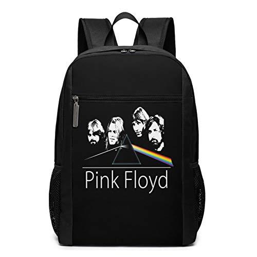 Mochila de viaje F-l-o-y-d para ordenador portátil, antirobo, color rosa