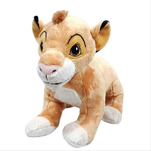 Zking Le Roi Lion Simba Jouets en Peluche Animaux en Peluche Garçons Enfants Jouets pour Enfants Cadeaux 23 Cm