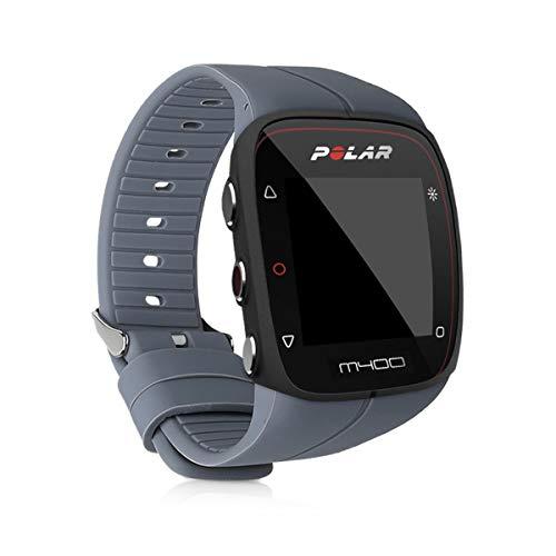 kwmobile Pulsera Compatible con Polar M400 / M430 - Correa para Reloj Inteligente Silicona TPU Antracita