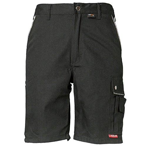 Planam Arbeitshose -Shorts Canvas 320 L Schwarz