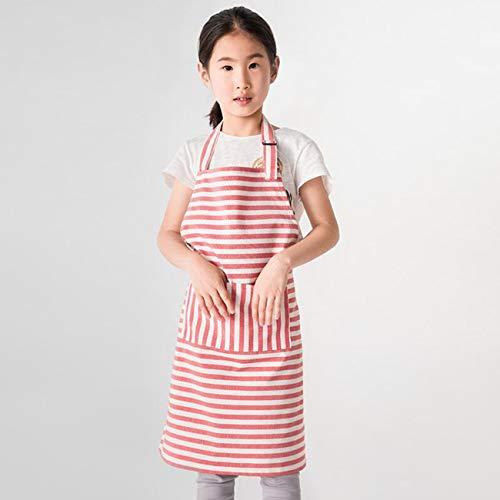 Kinderen schort, vrouwen waterdichte schilderij jurk, meisje mouwloze chef-kok hoed, kinderen vest magische kleverige sjaal dik