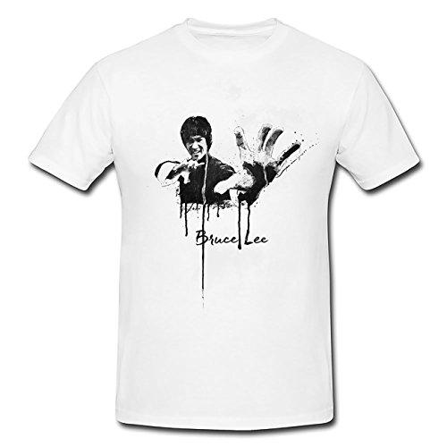 Bruce-Lee T-Shirt Frauen, Mädchen mit stylischen Motiv von Paul Sinus