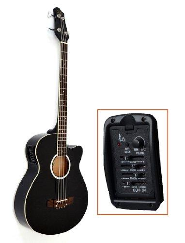 Guitarra, bajo acústico eléctrico con ecualizador activo