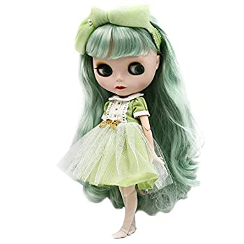1/6 BJD Doll 4-Color Changing Eyes Matte Face and Ball Jointed Body Dolls 12 Inch Customized Dolls Can Changed Makeup and Dress DIY Nude Doll Sold Exclude Clothes SNO.50