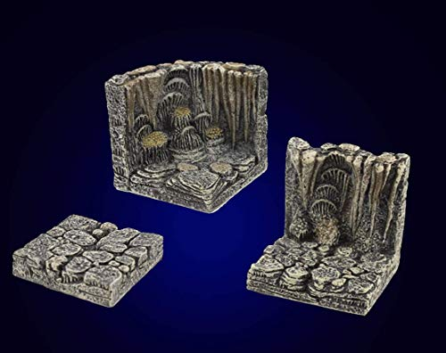 Dwarven Forge Painted Cavern 3 Piece Sample Pack