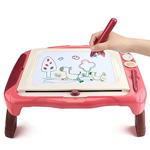Tablero De Dibujo Y Escritura De Graffiti, Tablero De Dibujo Magnético para Niños Tipo Soporte, Utilizado para Uso Doméstico por Niñas De 3 a 6 Años, Tamaño: 14.6x18.5in