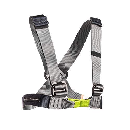 Black Diamond - Vario Chest - Chest Harness Size One Size, Grey/Black