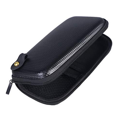 supvox EVA thermoforming scatola di imballaggio elettronico borsa di archiviazione di Viaggio Che porta La copertura della cerniera (Nero)