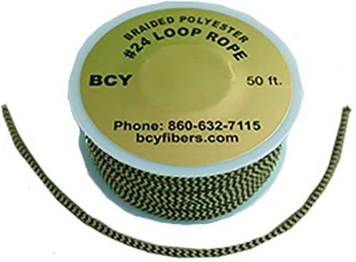 BCY 24 D-Loop Material Brown/Black 1m