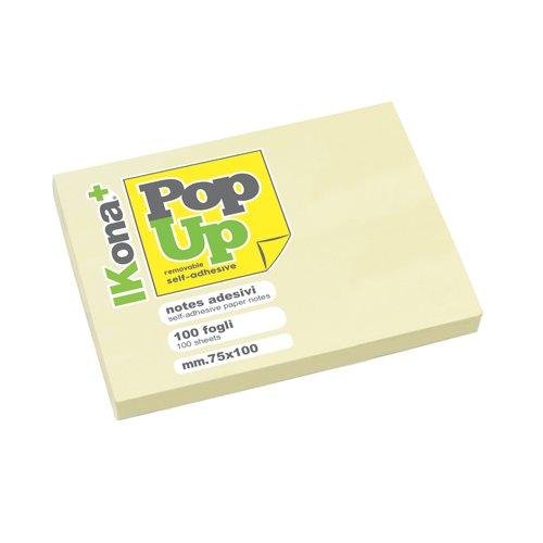 IKona+ 11739 Pop Up Cubo Papier 100 x 75 cm, geel