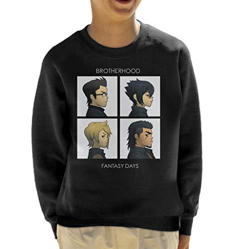 Cloud City 7 Final Fantasy Brotherhood Days Kid's Sweatshirt