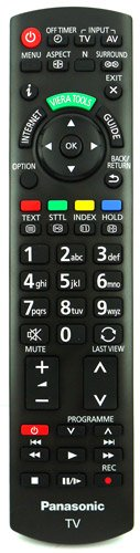 originale N2QAYB000753 Sub N2QAYB000673 Telecomando by Panasonic Viera Internet TV TX-L32D25BA TX-L32D25E TX-L32D28EP