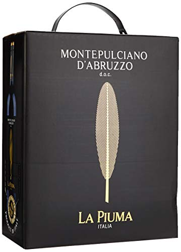 La Piuma Montepulciano d' Abruzzo Bag-in-Box 2017/2018 (1 x 3 l)