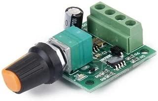 Regolatore di velocit/à giri dimmer driver PWM con manopola per motore DC 5V 6V 12V 15V 24V 30V 6A 150W con switch per inversione della rotazione