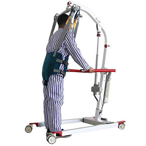 Arnés con Cabezal, Cabestrillo de Elevación de Paciente de Cuerpo Completo, Cinturón para Caminar Asistido por El Paciente, Las Piernas Se Pueden Separar, Seguridad de Enfermería ( Size : Larg