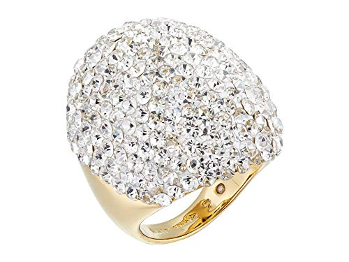 Kate Spade New York Mood Ring Clay Pave Ring Clear 7