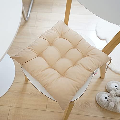 Taijun LED-Körper für Seat Cushion 102% Baumwolle Seat Cushion Soft Seat Cushion Fart Cushion Seat Stool Armchair Seat Cushion Square Cushion Seat Cushion, Innen und Outdoor