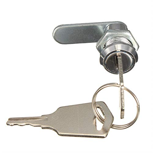 Lock For File Cabinet brievenbus gereedschapskist lade schrijftafel kast met 2 sleutels diameter kop van zinklegering 16 mm nieuw