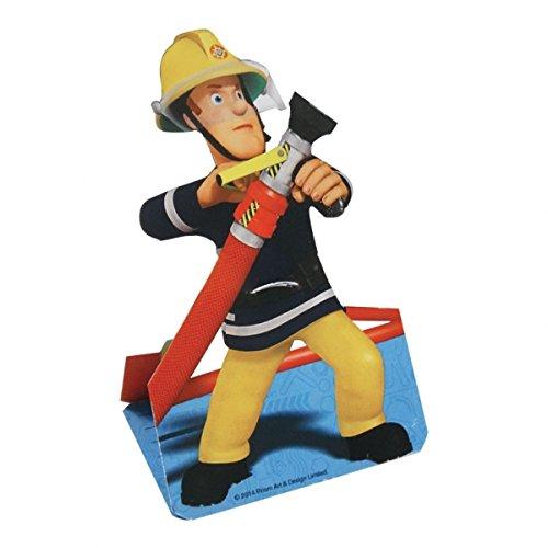 8 Cartes d'invitation Sam le pompier - taille - Taille Unique - 225600