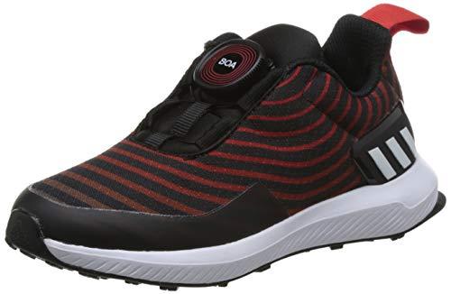 Adidas RapidaRun Uncaged Boa K, Zapatillas de Deporte Unisex Adulto, Negro (Negbás/Ftwbla/Roalre 000), 38 2/3 EU