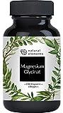 Magnesiumglycinat - Premium: Chelatiertes Magnesium - 180 Kapseln - 100mg elementares Magnesium pro...