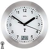 AMS Uhrenfabrik Uhr, Silber, 17 x 6 x 242 cm
