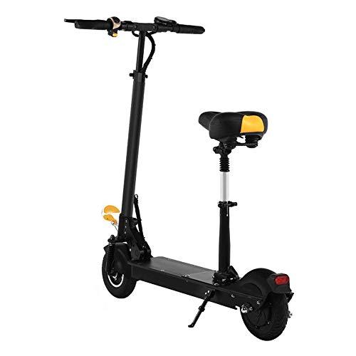L&WB Adulte Scooter Électrique Scooter Scooter Électrique Scooter Électrique Électrique Adulte, Scooter Électrique Pliable-Roller, Vitesse 36V / 350W Jusqu'à 30 Km/H Hauteur Ajustable,40km