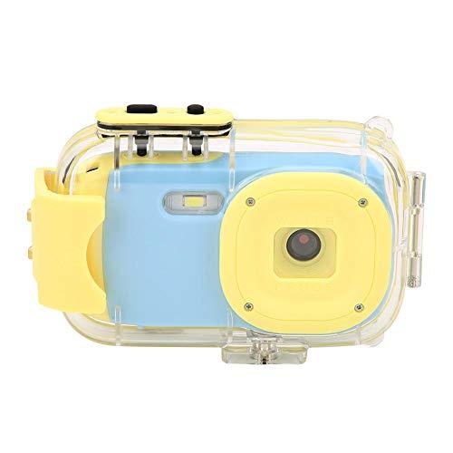 Waterdichte Kindercamera - Mini Draagbare Kindercamera - 1920x1080P 8.0MP 2 Inch HD IPS Scherm - Ingebouwde Oplaadbare Batterij - Digitale Camera-Cadeau Voor Jongens, Meisjes