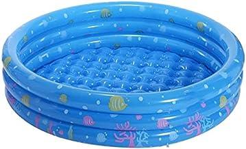 Piscinas hinchables Piscina inflable de juguete de jardín de infantes, resistente al desgaste de la piscina de la piscina de mar, piscina de almacenamiento exquisito patrón suave bordes blando