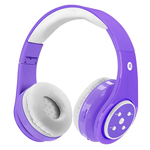 Kids Wireless Bluetooth Headphones Volume Limited 85db Stereo Sound...
