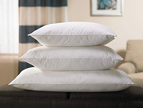 """Fairfield by Marriott Fairfield Down Alternative Eco Pillow - Soft, Eco-Friendly Pillow with 100% Recycled Fill - Exclusively Queen (20"""" x 30"""")"""