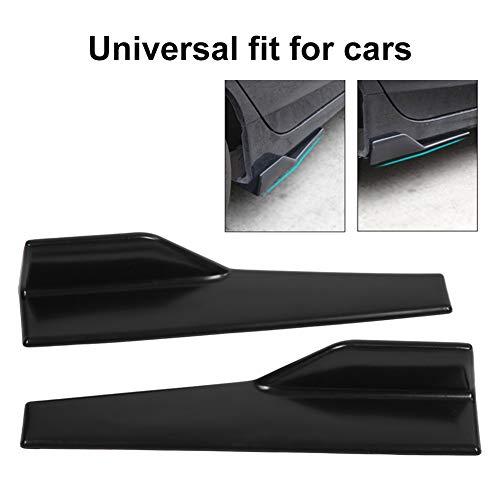 1 paio di paraurti posteriore universale per auto modificato canard diffusore per diffusore in fibra di carbonio paraurti per labbra fibra di carbonio Splitter per labbra paraurti posteriore Qiilu