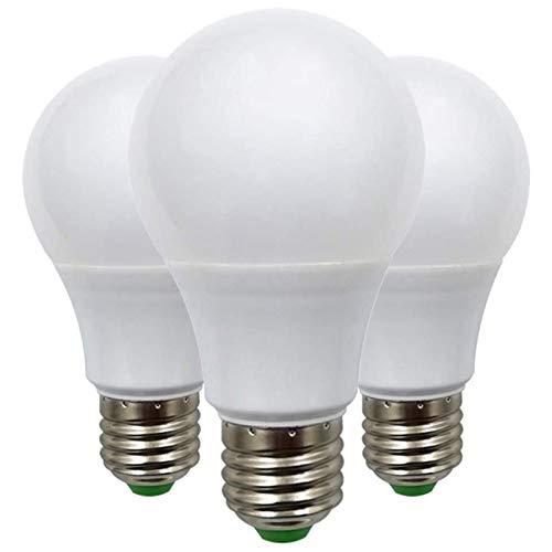 LED-Leuchtmittel 7W E27 Edison-Schraube, entspricht 60W A70 ES Globus-Glühbirne 12V Niederspannung, ideal für Netzunabhängige Solar-Beleuchtung, Marine, Boot, Wohnmobil, Warmweiß 2700K, 3 Stück