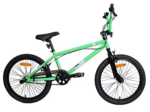 WST BMX Bicicleta, Niños, Verde, M