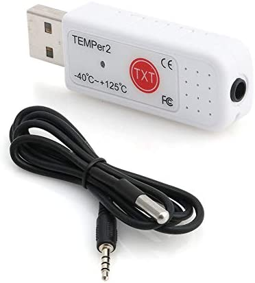YUNAWU PC TEMPER2 Sensor USB Thermometer Hygrometer Temperature Data Logger Recorder product image